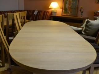 Table ovale Baltique avec allonges