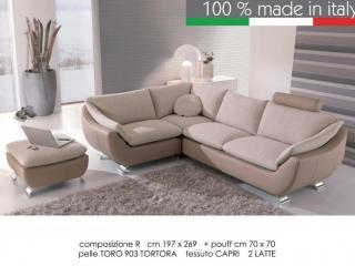 Canapé d'angle contemporain Elysée