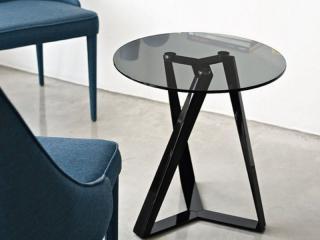 Tables contemporaines Artistico de Bontempi Casa en céramique ou en chêne massif
