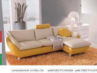 Canapé d'angle avec méridienne Elysée