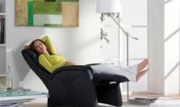 Fauteuil de relaxation  Himolla 7878 Provence la qualité allemande