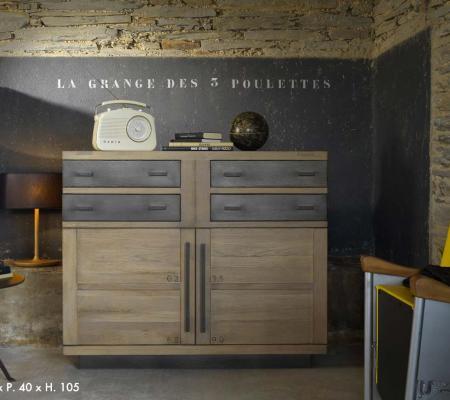 Style industriel : un mobilier de caractère