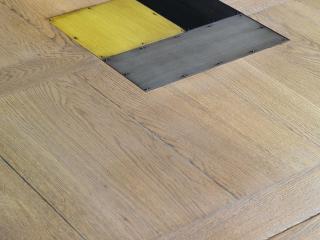 Collection de meubles industrie Passerelle en chêne masssif