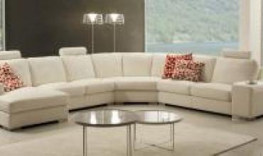 Canapé d'angle contemporain ALICE