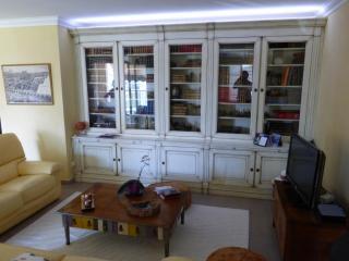 Cette bibliotheque a été réalisé sur mesure, posé dans la région de la ciotat. Un éclairage indirect a été voulu par notre client.