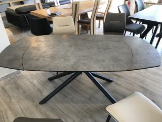 Table Stan en céramique avec rallonge en rotation