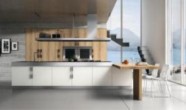 Cuisine équipée style italien BETA : l'esprit zen design