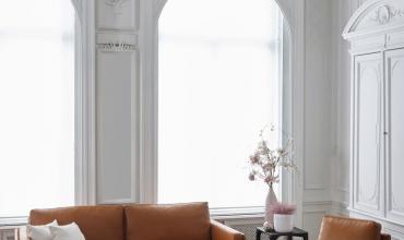 Canapé AUTEUIL de Burov dessiné par Bernard Masson et fabriqué en France