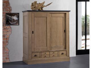 Armoirette 2 portes 2 tiroirs dimension L150x H171 x P64.  Prix 1/2 lingère : 2490€