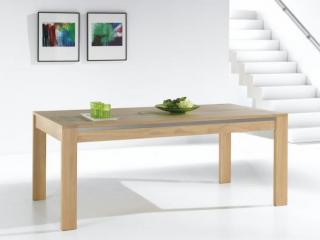 Table rectangulaire avec 1 ou 2allonges. dim  L190 P 100  H77.  2 allonges de 56cm portefeuille.  Prix indicatif 2163,2€ dont  eco-part 5,2€