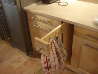 Création de rangements pratiques dans la cuisine