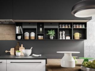 Cuisine Fenix : le style contemporain d'un matériau design
