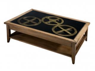 Table basse Horloger