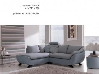 Canapé d'angle composable Elysée