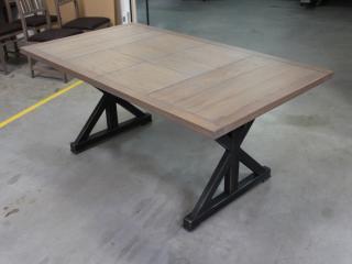 Table comptoir en 180x110
