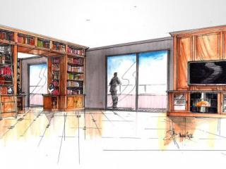 Création de bibliothèque sur-mesure et sur plan près de Marseille