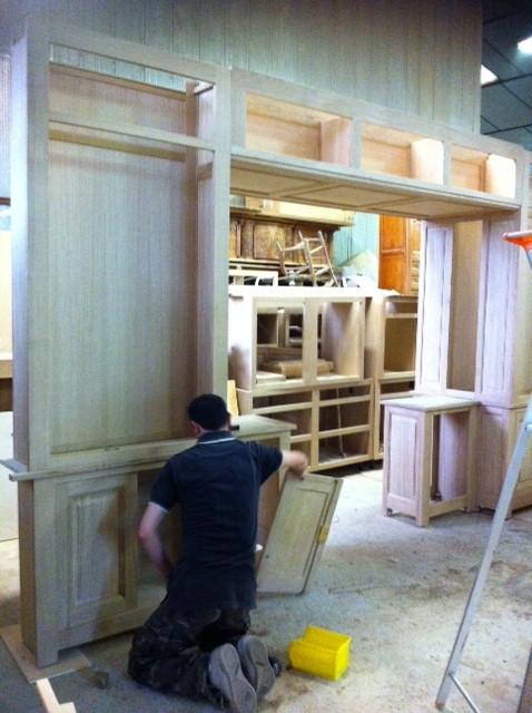 cr ation de biblioth que sur mesure et sur plan pr s de marseille. Black Bedroom Furniture Sets. Home Design Ideas