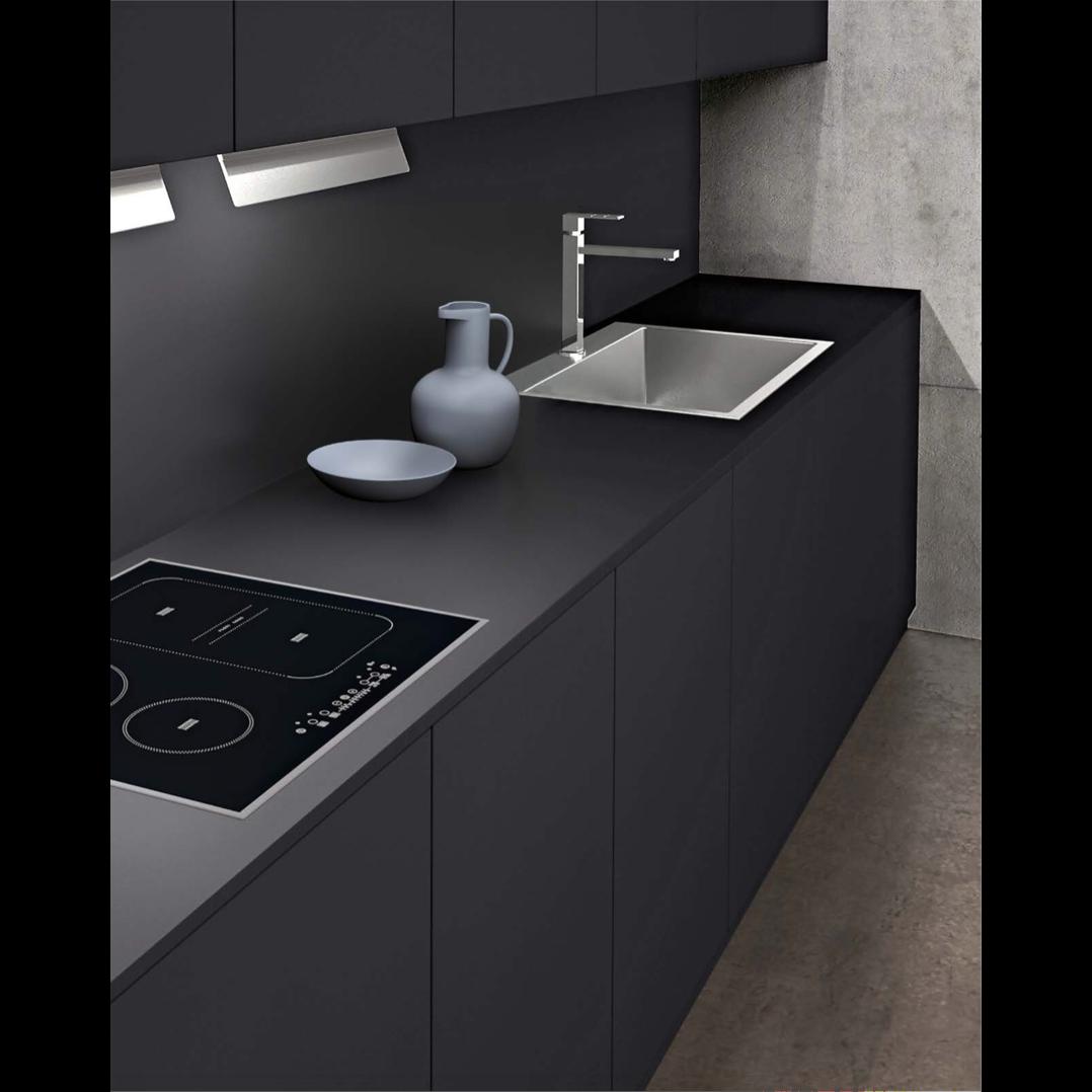 cuisine fenix le style contemporain d 39 un mat riau design. Black Bedroom Furniture Sets. Home Design Ideas