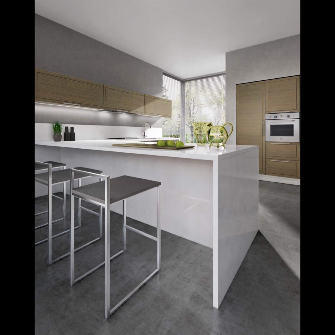 Cuisine Equipee Style Italien Beta L Esprit Zen Design