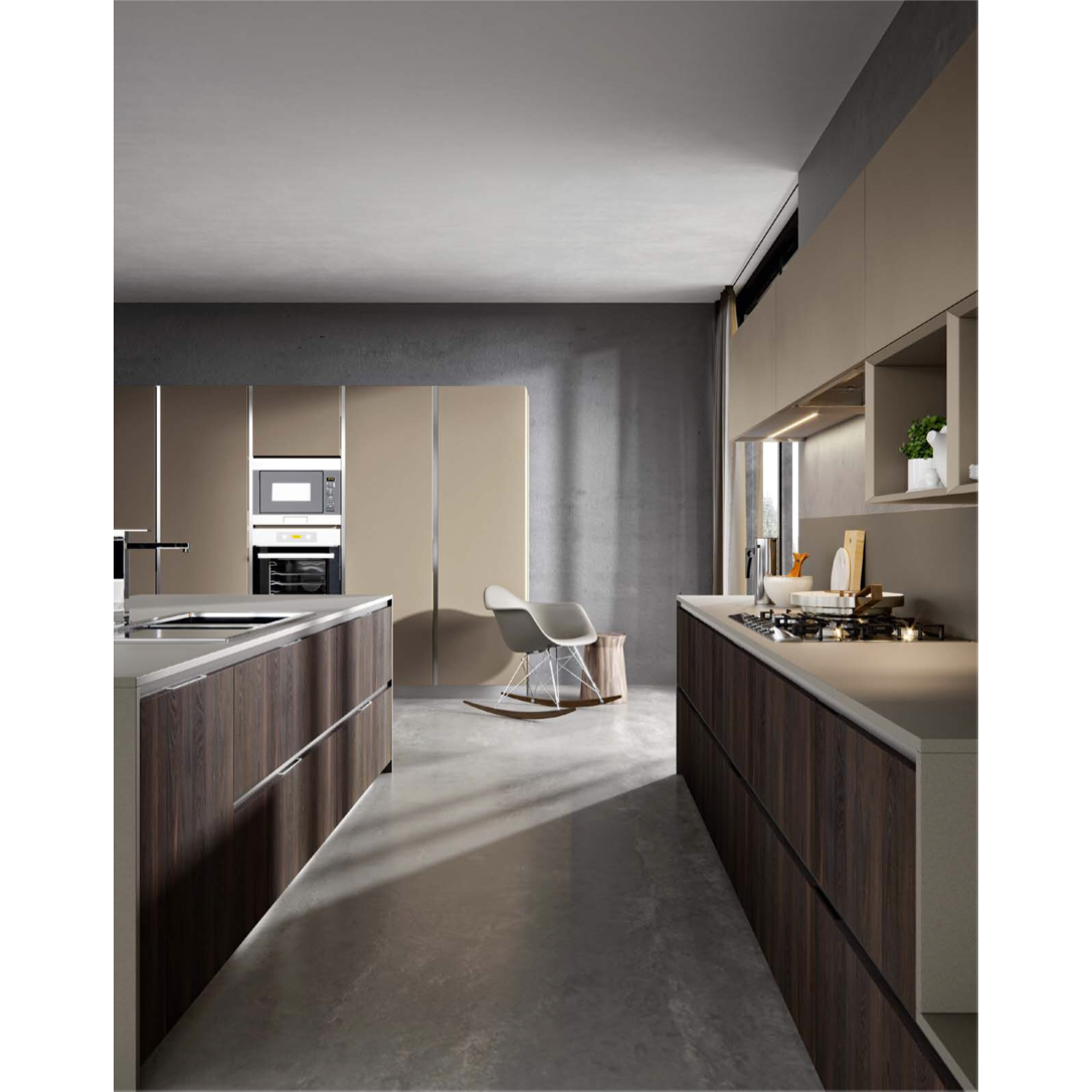 cuisine italienne omicron le style moderne vente cuisine sur mesure. Black Bedroom Furniture Sets. Home Design Ideas