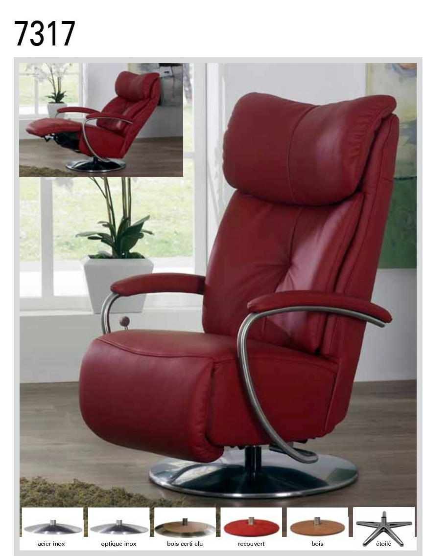 fauteuils de relaxation himolla plus fabrication canap s. Black Bedroom Furniture Sets. Home Design Ideas