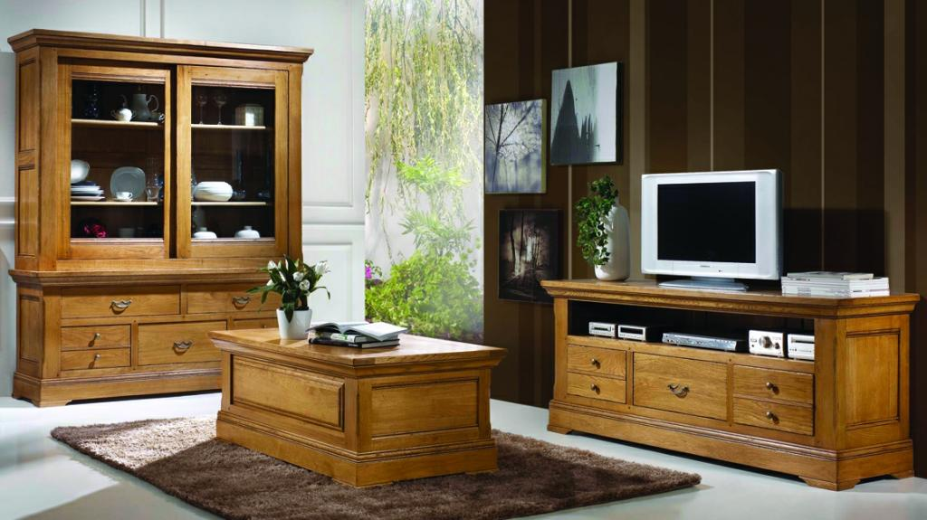 meubles de salon campagnard benoid pose meubles de salon paca france. Black Bedroom Furniture Sets. Home Design Ideas