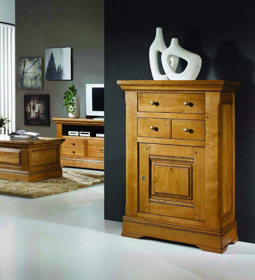 meubles de salon campagnard benoid pose meubles de salon. Black Bedroom Furniture Sets. Home Design Ideas