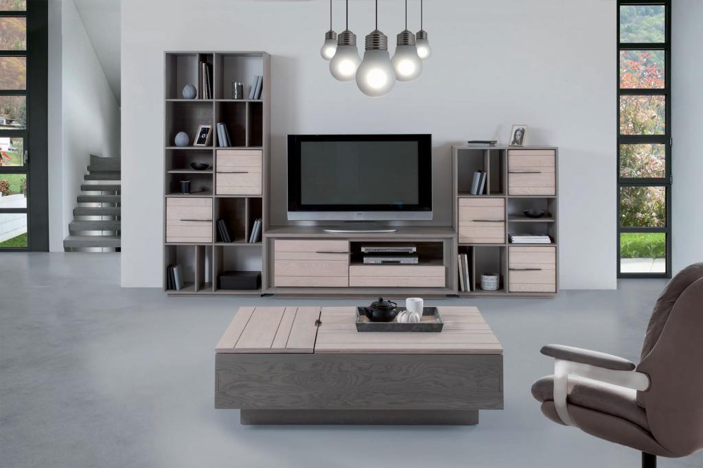 Meubles de salon zurich le ch ne massif fabrication fran aise design zen - Fabricant de meuble en france ...