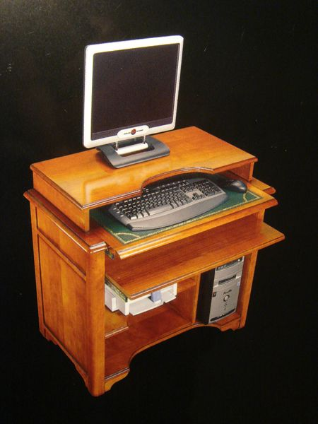 petit bureau informatique merisier marseille pose meubles de bureau. Black Bedroom Furniture Sets. Home Design Ideas