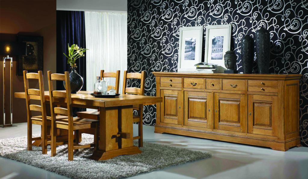 salle manger campagnarde benoid vente salle manger trets 13 nice 06. Black Bedroom Furniture Sets. Home Design Ideas